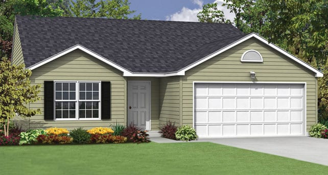 Ranch Style Floor Plans The Bradford Wayne Homes