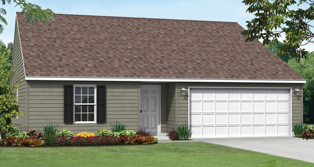 Simple ranch style custom home floor plan the bristol for Classic house bristol