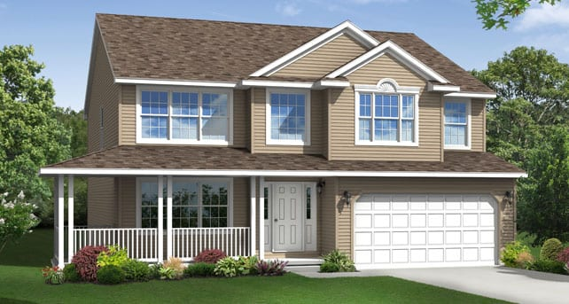 Popular custom home floor plans the charleston wayne homes Wayne homes floor plans