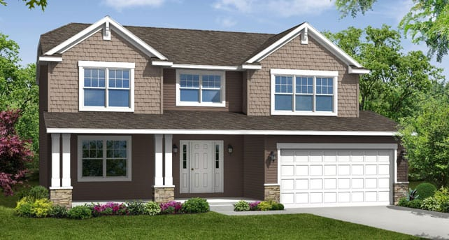 Craftsman style custom homes floor plans the chelsea Wayne homes floor plans