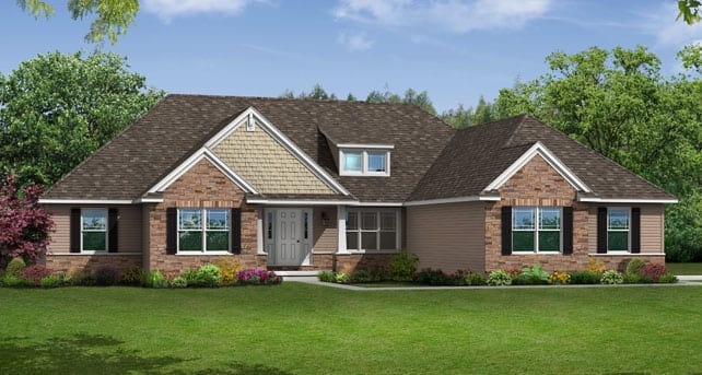 Spacious Ranch House Floor Plans: The Litchfield