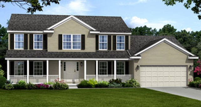 Washington wayne homes Wayne homes floor plans