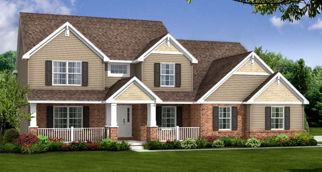 Wayne Homes Showcases New Home In Akron Oh During Open