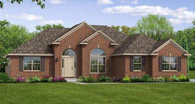 Ranch Home Floor Plans The Yorktown Wayne Homes