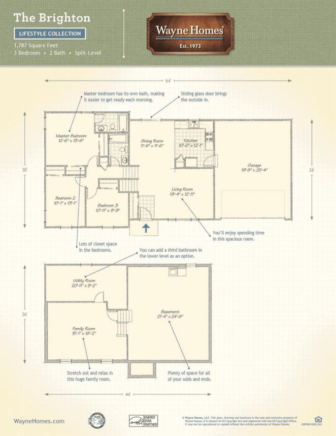 wayne homes floor plans