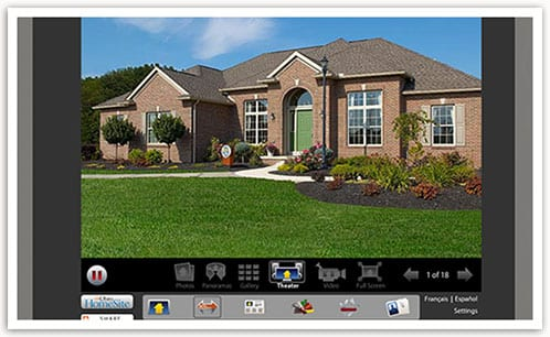Get organized with our online design tools wayne homes for Free virtual home tours online