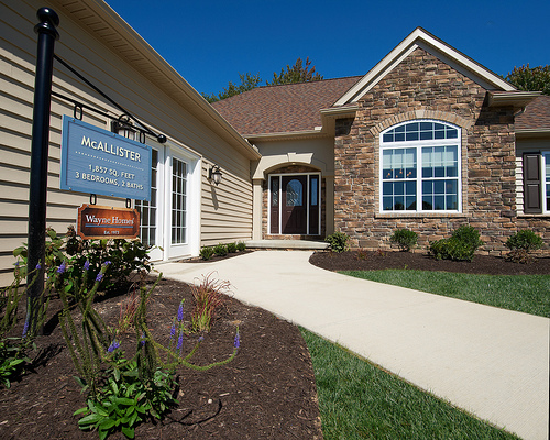 Model home center real estate