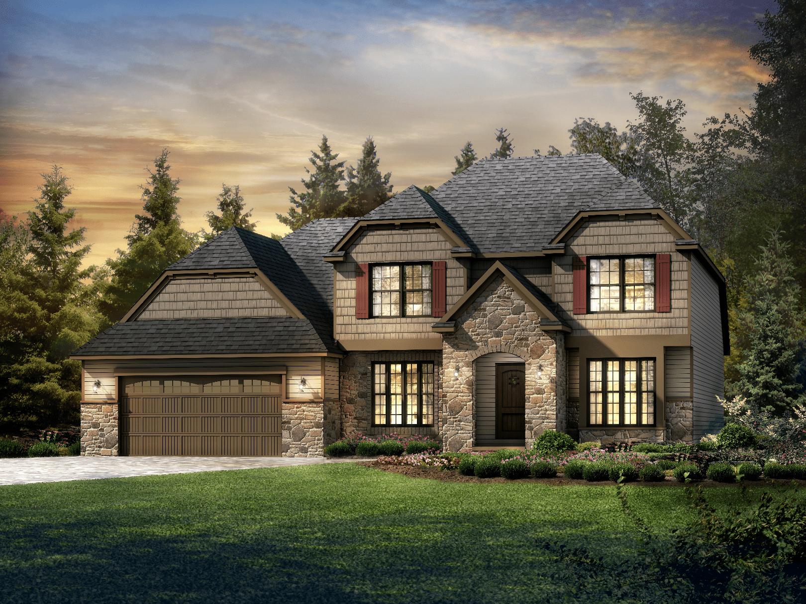 Luxury Schumacher Homes Akron Ohio