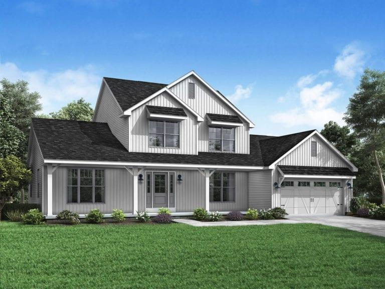 Farmhouse floor plans - Wayne Homes