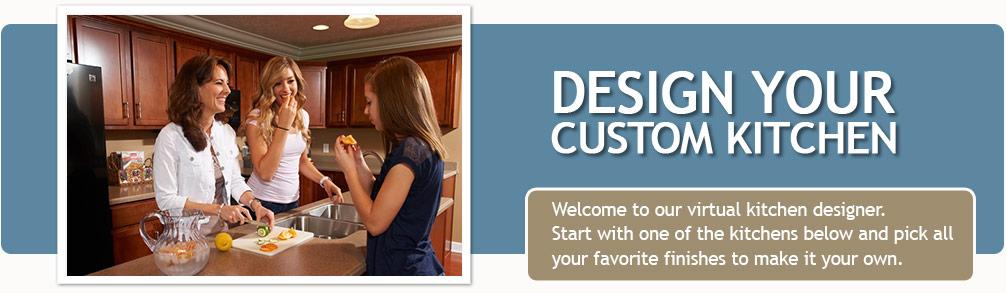 custom home kitchen design tool | wayne homes