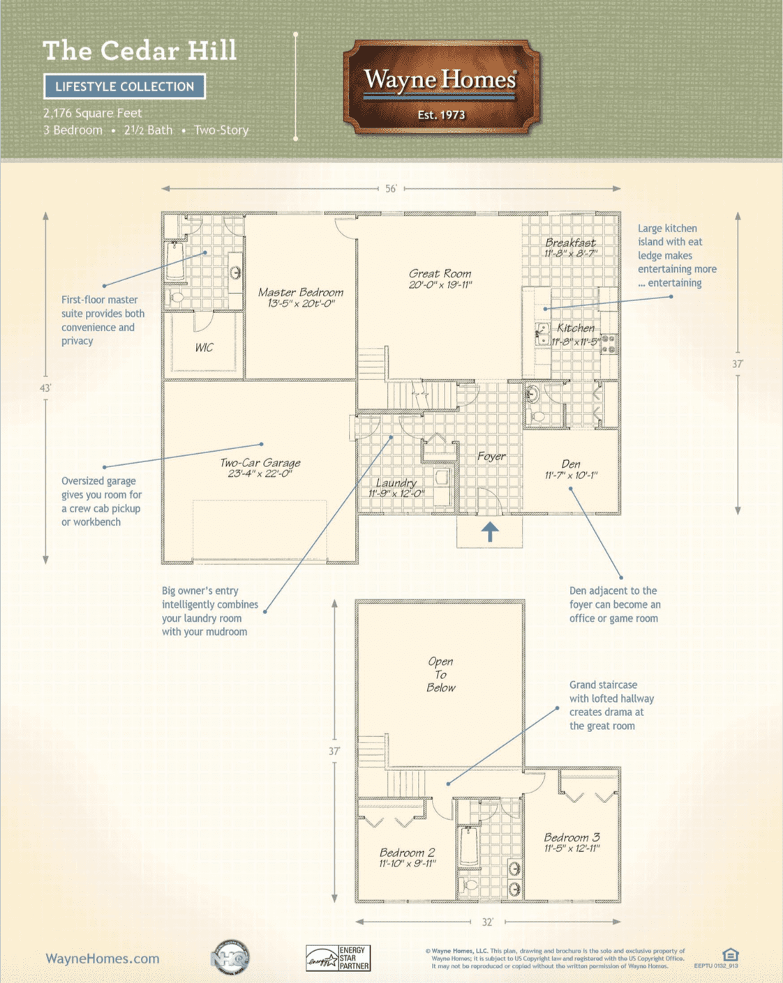 Cedar Hill Floorplan