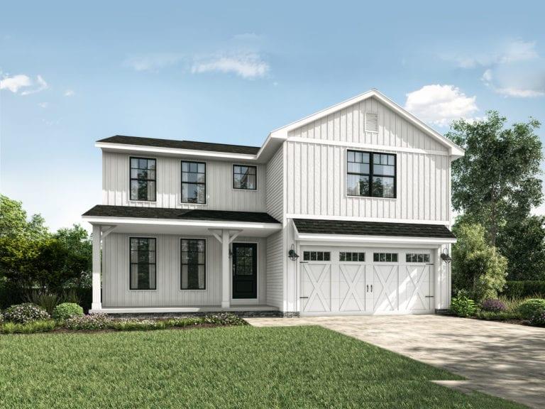 Floor Plans: Custom Built Homes With 2 Car Garages - Wayne Homes on