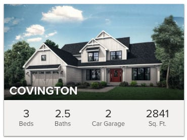 Covington Floor Plan: Two-Story Master Down Home - Wayne Homes