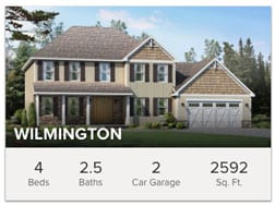 Wilmington 4 Bedroom 2.5 Bath Custom Floor Plan from Wayne Homes
