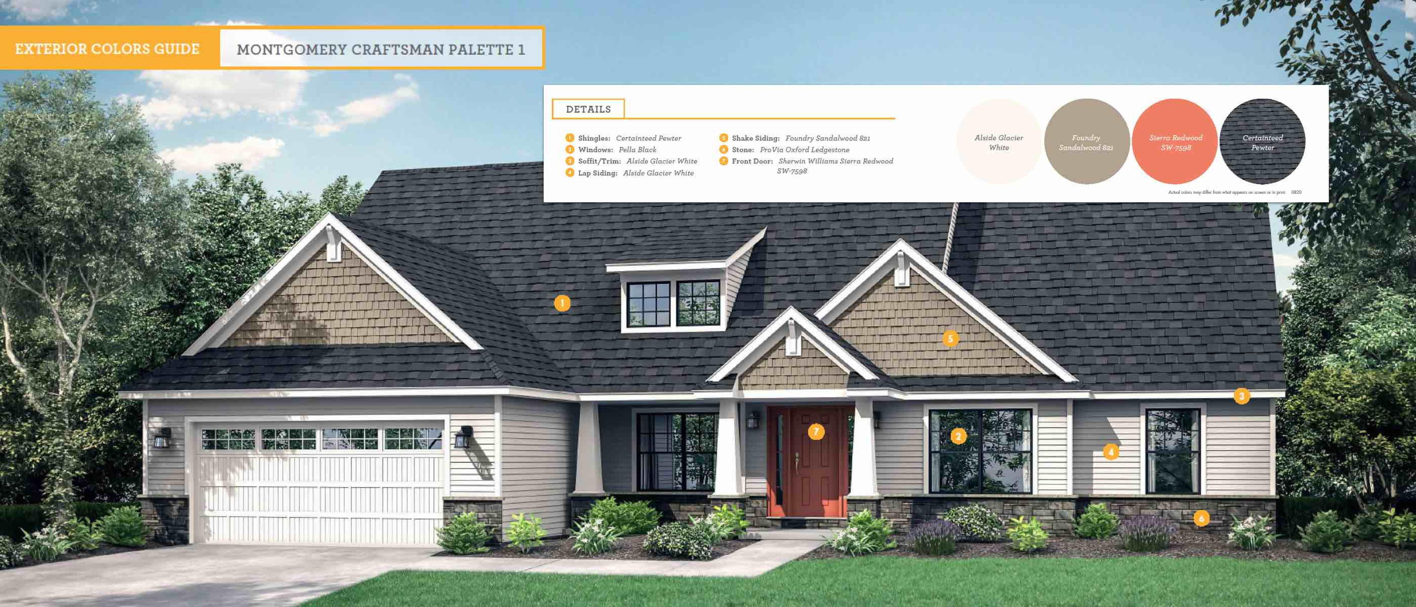 Introducing True Design Color Palettes Wayne Homes