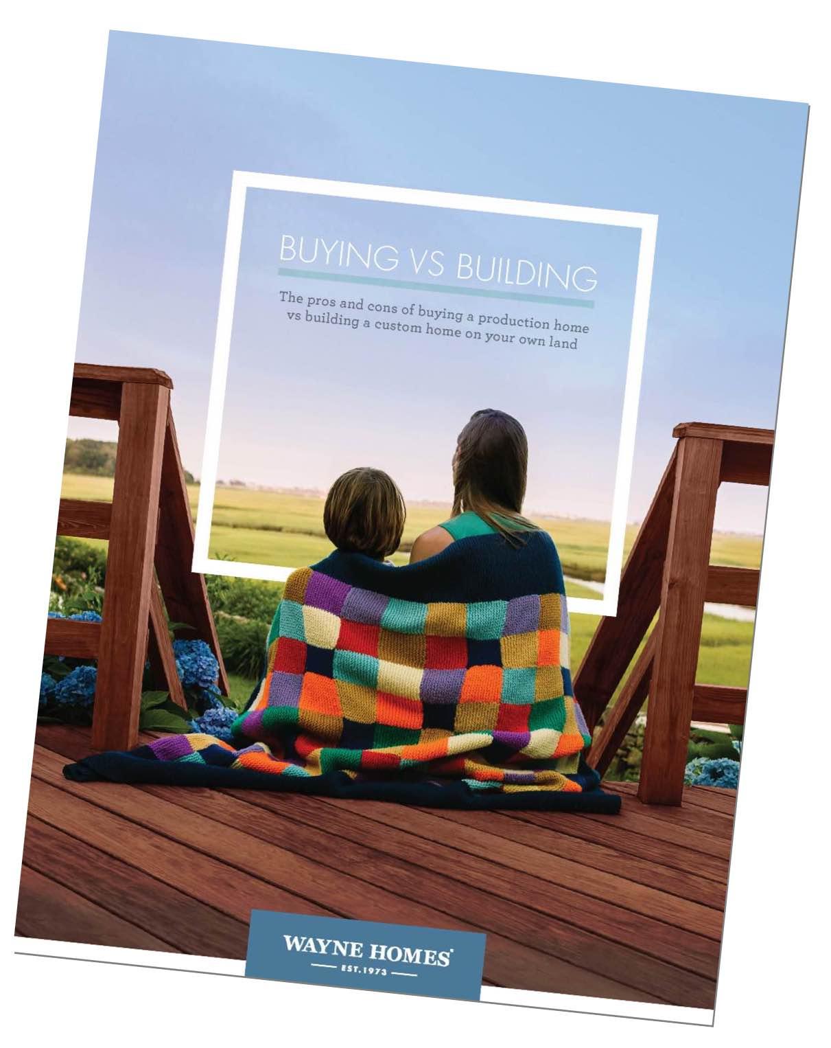 Buying vs. Building Brochure